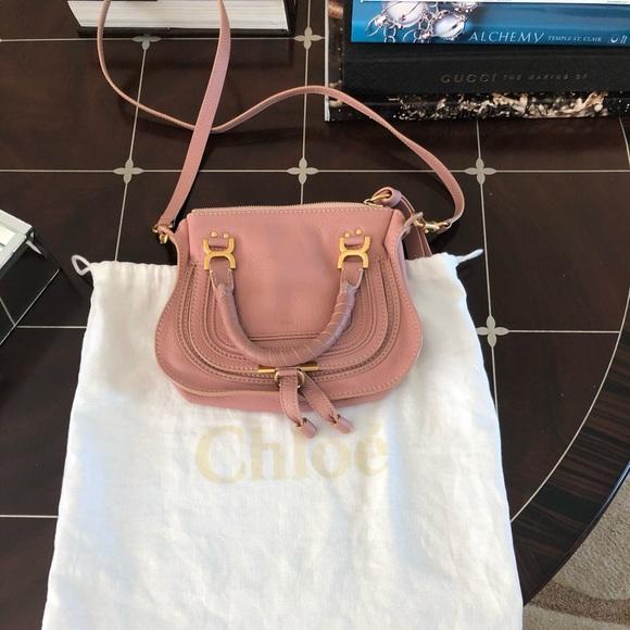 203f306e35d Chloe Bags | Chlo Marcie Baby Mini Anemone Pink | Poshmark